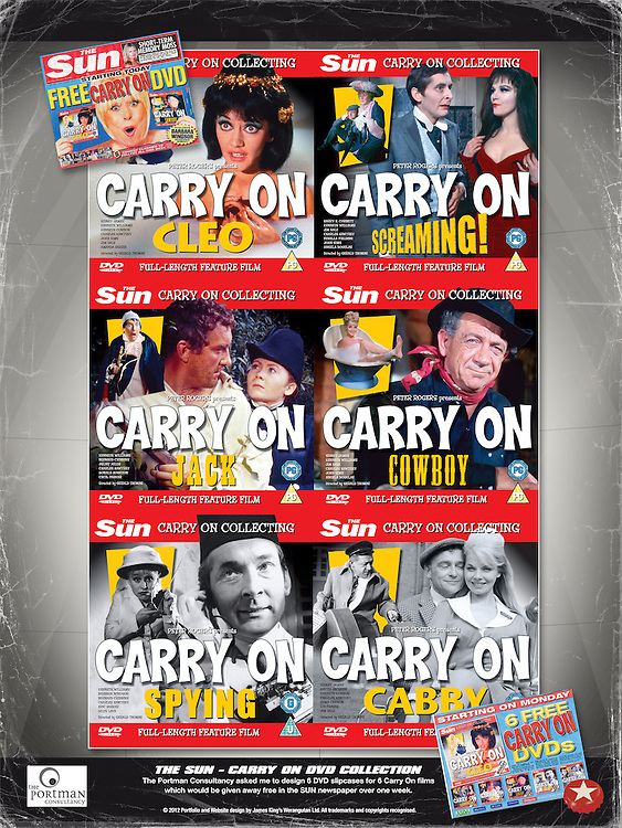 The Sun - Carry On DVD Collection<br />