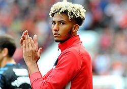 Lloyd Kelly of Bristol City applauds fans before kick-off  - Mandatory by-line: Nizaam Jones/JMP- 18/08/2018 - FOOTBALL - Ashton Gate Stadium - Bristol, England - Bristol City v Middlesbrough - Sky Bet Championship