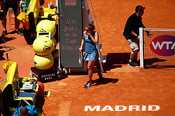 May 11, 2019 - Madrid, MADRID, SPAIN - Barbora Strycova (CZE) during the Mutua Madrid Open 2019, WTA Doubles Final, (ATP Masters 1000 and WTA Premier) tenis tournament at Caja Magica in Madrid, Spain, on May 11, 2019. (Credit Image: © AFP7 via ZUMA Wire)