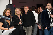 PARMESH GODRIS; ANDREA BARRON; JOCHEN ZEITZ; ( CEO PUMA), Puma/ Hussein Chalayan Retrospective Exhibition. Design Museum, London. 21 January 2009. *** Local Caption *** -DO NOT ARCHIVE-© Copyright Photograph by Dafydd Jones. 248 Clapham Rd. London SW9 0PZ. Tel 0207 820 0771. www.dafjones.com.<br /> PARMESH GODRIS; ANDREA BARRON; JOCHEN ZEITZ; ( CEO PUMA), Puma/ Hussein Chalayan Retrospective Exhibition. Design Museum, London. 21 January 2009.
