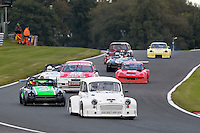 #16 Craig Percy Morris Minor 6200 during the CSCC Special Saloons and Modsports at Oulton Park, Little Budworth, Cheshire, United Kingdom. October 15 2016. World Copyright Peter Taylor/PSP. <br /> Copy of publication required for printed pictures.  Every used picture is fee-liable. http://archive.petertaylor-photographic.co.uk