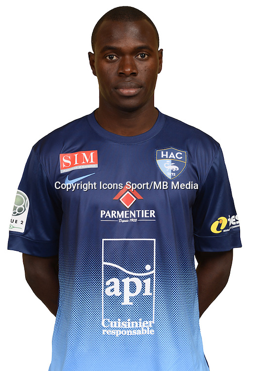 Zargo TOURE - 10.10.2014 - Portrait Officiel Le Havre -<br /> Photo : Emmanuel Lelaidier / HAC / Icon Sport