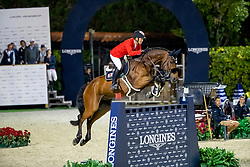 Fukushima Daisuke, JPN, Calouso 2<br /> Longines FEI Jumping Nations Cup Final<br /> Challenge Cup - Barcelona 2019<br /> © Dirk Caremans<br />  05/10/2019