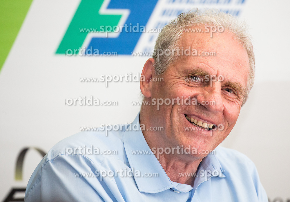 Joze Okoren during Media day of the National Paralympic Committee (NPC) of Slovenia before Paralympic Games in Rio, on August 2, 2016 at Soca River, Nova Gorica, Slovenia. Photo by Vid Ponikvar / Sportida