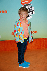 March 23, 2019 - Los Angeles, CA, USA - LOS ANGELES, CA - MARCH 23: Tydus Talbott attends Nickelodeon's 2019 Kids' Choice Awards at Galen Center on March 23, 2019 in Los Angeles, California. Photo: CraSH for imageSPACE (Credit Image: © Imagespace via ZUMA Wire)
