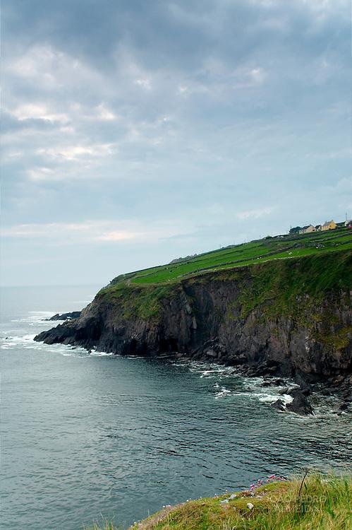Irish rural scene at Dingle