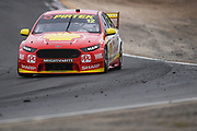 20th May 2018, Winton Motor Raceway, Victoria, Australia; Winton Supercars Supersprint Motor Racing; Fabian Coulthard drives the number 12 DJR Team Penske Ford Falcon FG X during race 14 of the 2018 Supercars Championship