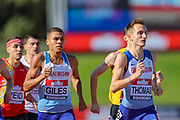 Men's 800m Final won by 	Spencer THOMAS during the Muller British Athletics Championships at Alexander Stadium, Birmingham, United Kingdom on 25 August 2019.