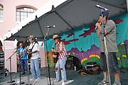 Ice-9 concert at 2013 Tucson Folk Festival.