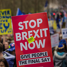 23 Mar 2019 - A million march in London to demand a second referendum.