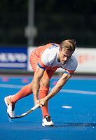 ARNHEM - Primeur. JEROEN HERTZBERGER. Het Nederlands Mannen hockeyteam traint in Arnhem in het Olympische Adidas tenue, dat tijdens de Olympische Spelen zal worden gedragen.   COPYRIGHT KOEN SUYK