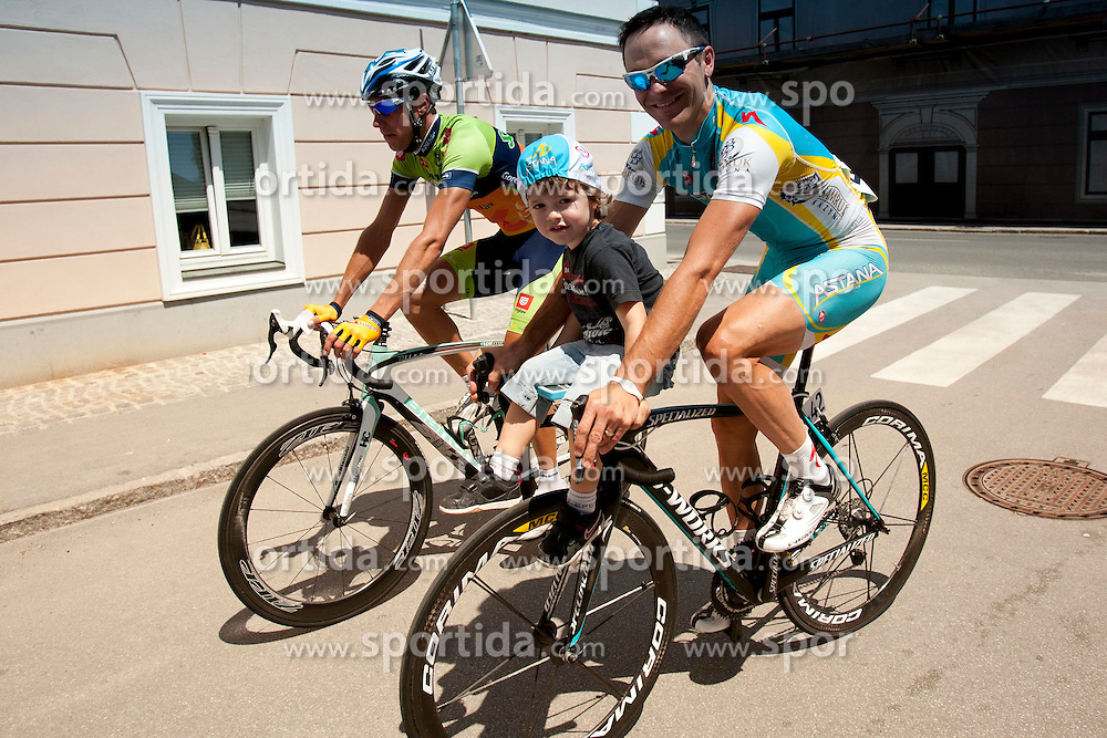 BOZIC Borut of Astana during 2nd Stage (177,4 km) at 19th Tour de Slovenie 2012, on June 15, 2012, in Kocevje, Slovenia. (Photo by Urban Urbanc / Sportida.com)
