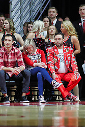 NORMAL, IL - December 08: Redbird fans during a college basketball game between the ISU Redbirds and the University of Mississippi (Ole Miss) Rebels on December 08 2018 at Redbird Arena in Normal, IL. (Photo by Alan Look)