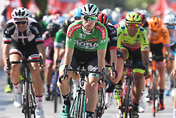 October 10, 2018 - Antalya, Turkey - Sam Bennett (Center-Green Jersey) from Bora - Hansgrohe Team wins the second stage - the Sportoto 154.1km Alanya - Antalya, of the 54th Presidential Cycling Tour of Turkey 2018. .On Wednesday, October 10, 2018, in Antalya, Turkey. (Credit Image: © Artur Widak/NurPhoto via ZUMA Press)