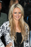 LONDON - JULY 18: Emily Atack attended the European Film Premiere of 'The Dark Knight Rises' in Leicester Square, London, UK. July 18, 2012. (Photo by Richard Goldschmidt)