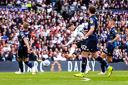 Tom Lawrence of Derby County shots at goal - Mandatory by-line: Ryan Crockett/JMP - 11/05/2019 - FOOTBALL - Pride Park Stadium - Derby, England - Derby County v Leeds United - Sky Bet Championship Play-off Semi Final 1st Leg