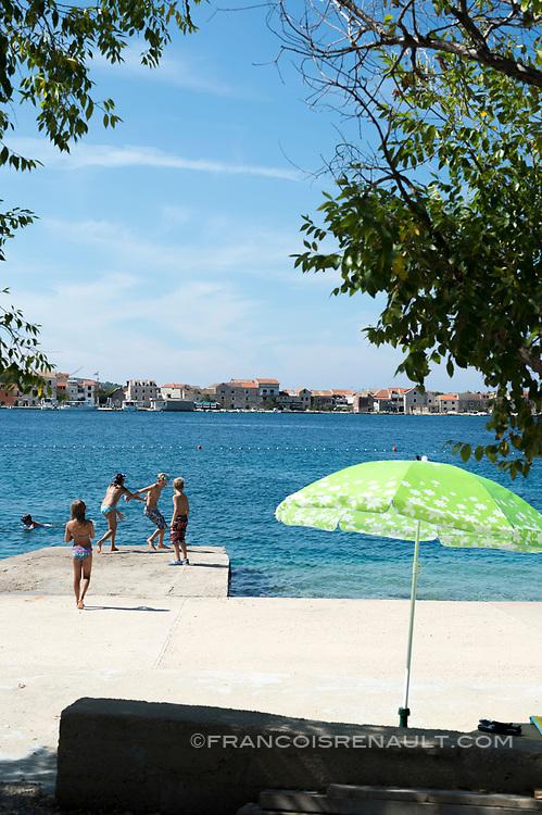 Brodarica, Dalmatie, Croatie. / Brodarica, Dalmatia, Croatia.