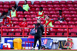 Bristol City Head Coach Lee Johnson - Mandatory by-line: Robbie Stephenson/JMP - 01/07/2020 - FOOTBALL - The City Ground - Nottingham, England - Nottingham Forest v Bristol City - Sky Bet Championship