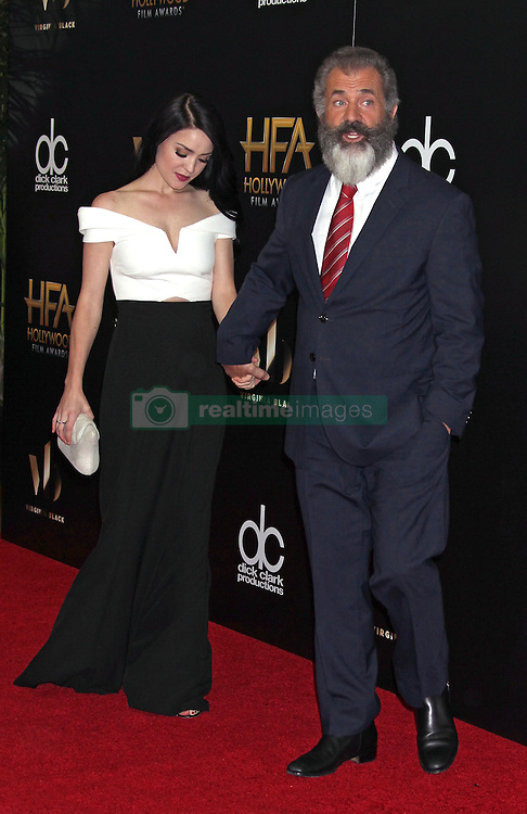 Mel Gibson, Rosalind Ross, The 20th Annual Hollywood Film Awards at the Beverly Hilton Hotel (Beverly Hills, CA.)