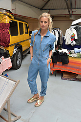 LAURA BAILEY at #SheInspiresMe Car Boot Sale in Aid of Women for Women International held at the Brewer Street Carpark, Soho, London on 23rd April 2016.