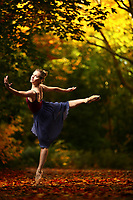 Dance As Art New York City Photography Project Central Park Fall Series with dancer,