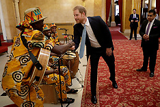Prince Harry at Commonwealth Youth event - 30 Jan 2019