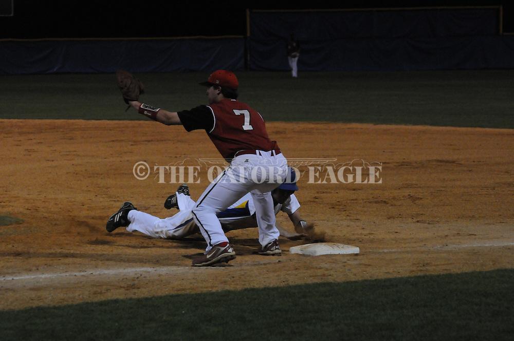 Oxford vs. Lafayette in boys high school baseball in Oxford, Miss. on Thursday, March 17, 2011. Lafayette won 7-6.