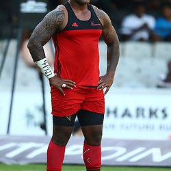 DURBAN, SOUTH AFRICA - MARCH 26: Nemani Nadolo of the BNZ Crusaders during the Super Rugby match between Cell C Sharks and BNZ Crusaders at Growthpoint Kings Park on March 26, 2016 in Durban, South Africa. (Photo by Steve Haag)<br /> <br /> images for social media must have consent from Steve Haag