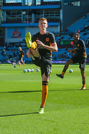 Sam Clucas of Hull City warms up prior to the Sky Bet Championship match at Villa Park, Birmingham<br /> Picture by Matt Wilkinson/Focus Images Ltd 07814 960751<br /> 05/08/2017