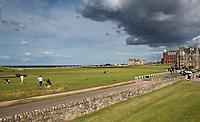 ST. ANDREWS -Schotland-GOLF. 18e  Old Course .COPYRIGHT KOEN SUYK