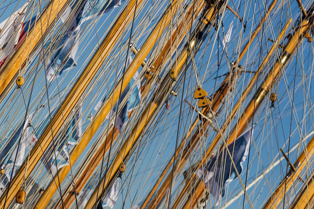 FRANCE, St Tropez. 3rd October 2012. Voiles de St Tropez.