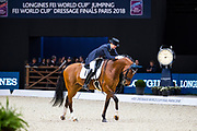 Hanna Karasiova - Zodiak<br /> FEI Longines FEI World Cup Paris 2018<br /> © DigiShots