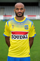 Westerlo's Frederic Gounongbe pictured during the 2015-2016 season photo shoot of Belgian first league soccer team KVC Westerlo, Monday 13 July 2015 in Westerlo.