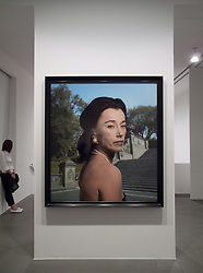 Cindy Sherman vernissage at Gagosian Gallery in Rome 06/07/2009