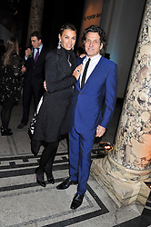 STEPHEN & ASSIA WEBSTER at a private view of Photographs by Cecil Beaton celebrating the diamond jubilee of HM The Queen Elizabeth 11 at the Victoria & Albert Museum, Cromwell Road, London on 6th February 2012.