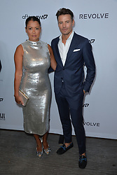 September 5, 2019, New York, NY, USA: September 5, 2019  New York City..Keytt Lundqvist and Alex Lundqvist attending The Daily Front Row Fashion Media Awards arrivals on September 5, 2019 in New York City. (Credit Image: © Kristin Callahan/Ace Pictures via ZUMA Press)