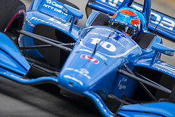 June 1, 2018 - Detroit, Michigan, United States of America - ED JONES (10) of the United Arab Emirates takes to the track for a practice session for the Detroit Grand Prix at Belle Isle Street Course in Detroit, Michigan. (Credit Image: © Stephen A. Arce/ASP via ZUMA Wire)