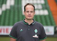 German Soccer Bundesliga 2015/16 - Photocall of Werder Bremen on 10 July 2015 in Bremen, Germany: team-doctor Dominik Schwarz