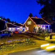 Et hus i Randesund Kristiansand som har tatt p&aring; seg julestemningen 3 desember 2014.<br /> <br /> A house in Randesund, Kristiansand have put on the christmas feeling december 3 2014.