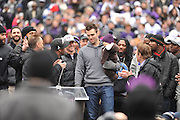 Following The Baltimore Ravens Super Bowl XLVII Championship, The City of Baltimore hosted a Victory Parade downtown in their honor on Tuesday afternoon.  Following The Baltimore Ravens Super Bowl XLVII Championship, The City of Baltimore hosted a Victory Parade downtown in their honor on Tuesday afternoon.