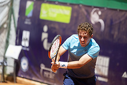June 21, 2018 - L'Aquila, Italy - Roberto Carballés Baena during match between Roberto Carballés Baena (ESP) and Daniel Elahi GALAN (COL) during day 6 at the Internazionali di Tennis Città dell'Aquila (ATP Challenger L'Aquila) in L'Aquila, Italy, on June 20, 2018. (Credit Image: © Manuel Romano/NurPhoto via ZUMA Press)