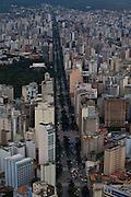 Belo Horizonte_MG, Brasil...Na foto a avenida Afonso Pena em Belo Horizonte, Minas Gerais... In the photo the Afonso Pena Avenue in Belo Horizonte, Minas Gerais...Foto: LEO DRUMOND / NITRO