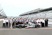 Tony Kanaan (Hydroxycut KV Racing) winner of the 2013 Indianapolis 500. Indianapolis Motor Speedway, Indina USA. Monday 27 May 2013. Photo Clay Cross / photosport.co.nz