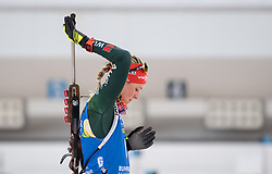 11.01.2018, Chiemgau Arena, Ruhpolding, GER, IBU Weltcup Biathlon, Ruhpolding, Einzel, Damen, im Bild Denise HERRMANN (GER) // during Ladies Individual of BMW IBU Biathlon World Cup at the Chiemgau Arena in Ruhpolding, Germany on 2018/01/11. EXPA Pictures © 2018, PhotoCredit: EXPA/ Ernst Wukits