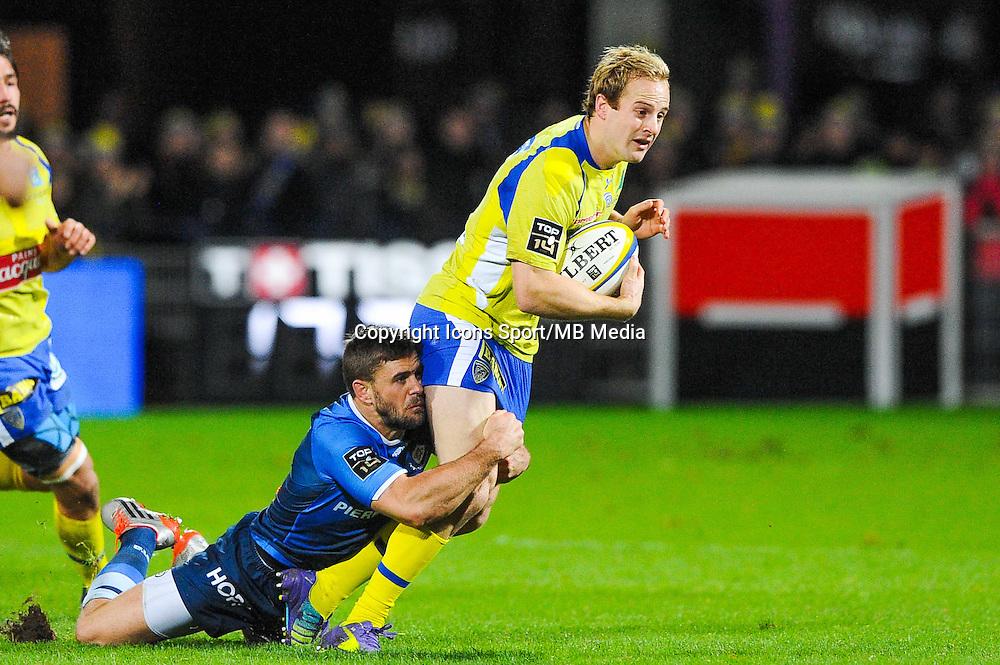 Rory Kockott / Nick Abendanon  - 20.12.2014 - Clermont / Castres - 13eme journee de Top 14 -<br /> Photo : Jean Paul Thomas / Icon Sport
