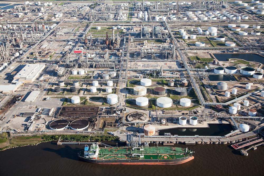 The Deer Park refinery, the sixth largest in the world, underwent a $1 billion capital upgrade in 2001. The refinery is within the Houston Ship Channel, approximately 20 miles east of downtown Houston.