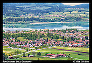 Forggensee Lake<br /> F&uuml;ssen, Germany<br /> May 2014