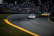 August 4-6, 2011. American Le Mans Series, Mid Ohio. 44 Flying Lizard Motorsports, Porsche 997 GT3-RSR, Darren Law, Seth Neiman