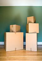Still life of moving boxes&#xA;<br />