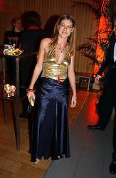 MISS FRANCESCA VERSACE at Andy & Patti Wong's Chinese New Year party to celebrate the year of the Rooster held at the Great Eastern Hotel, Liverpool Street, London on 29th January 2005.  Guests were invited to dress in 1920's Shanghai fashion.<br /><br />NON EXCLUSIVE - WORLD RIGHTS